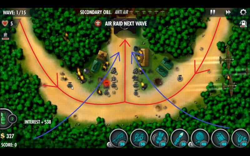 """""""iBomber Defense Pacific"""" - Місія кампанії 12 - """"Битва під Тенару"""" (1)"""