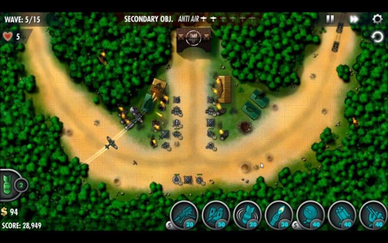 """iBomber Defense Pacific"" - مهمة الحملة 12 - ""Battle of Tenaru"" [3)"