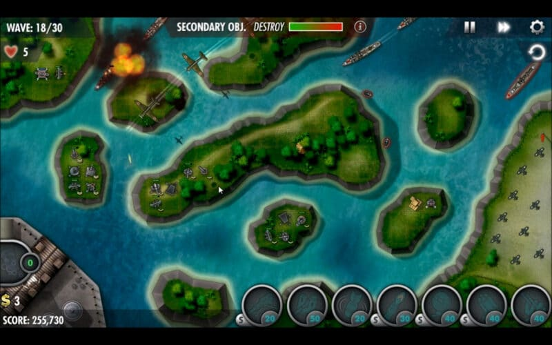 """iBomber Defense Pacific"" - Campaign Mission 20 - ""Philippine Sea"" (5)"