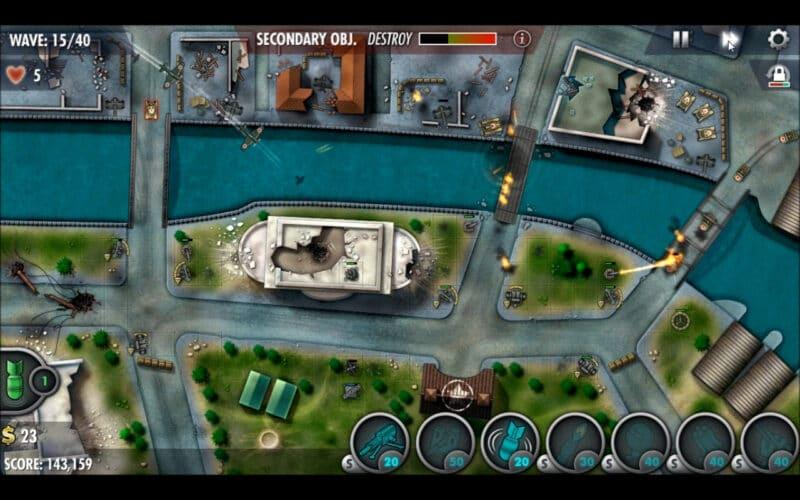 """""""iBomber Defense Pacific"""" - Misión de campaña 22 - """"Manila"""" (5)"""