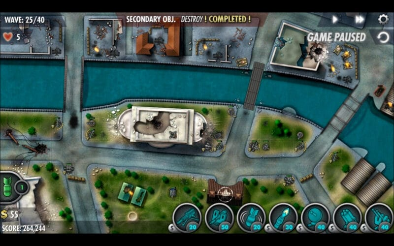 «iBomber Defense Pacific» - Mission de campagne 22 - «Manille» (7)